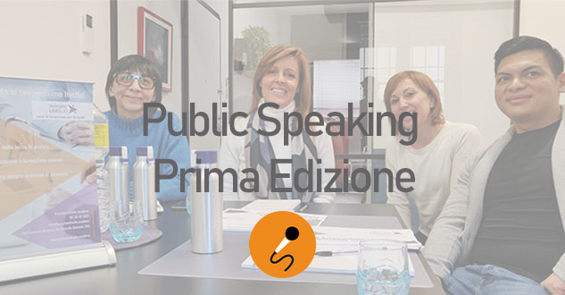 Conclusa la prima edizione del corso di Public Speaking
